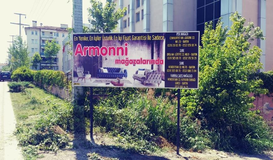 Armoni Yol Tabelası Çalışması